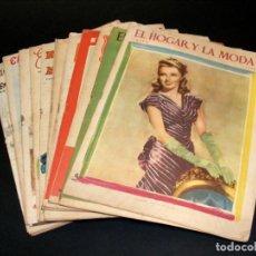 Coleccionismo de Revistas y Periódicos: REVISTA MENSUAL EL HOGAR Y LA MODA - AÑO 1948 COMPLETO - 12 NÚMEROS - VER FOTOS.. Lote 235113615