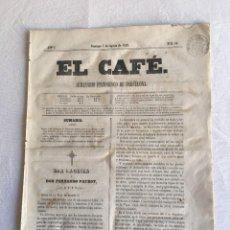 Coleccionismo de Revistas y Periódicos: EL CAFÉ. SEMANARIO PINTORESCO DE BARCELONA. AÑO I - DOMINGO, 7 DE AGOSTO DE 1859 - Nº 18. Lote 235139785