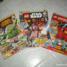 Collectionnisme de Revues et Journaux: LOTE 3 REVISTA LEGO STAR WARS 1 15 Y NINJAGO 5. USADAS, VER Y LEER. Lote 235167455