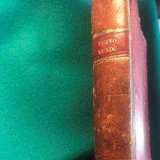 Colecionismo de Revistas e Jornais: UN TOMO DE LA REVISTA NUEVO MUNDO ENCUADERNADO DE 1.905 CON 22 REVISTAS PONGO TODAS LAS PORTADAS. Lote 235168305