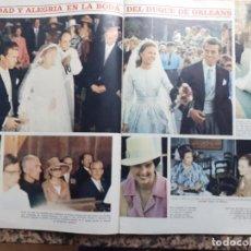 Coleccionismo de Revistas y Periódicos: BODA DEL DUQUE DE ORLEANS GRACE KELLY LA CONDESA DE BARCELONA. Lote 235202075