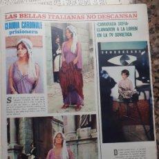 Coleccionismo de Revistas y Periódicos: CLAUDIA CARDINALE SOFIA LOREN EN RUSIA. Lote 235202185