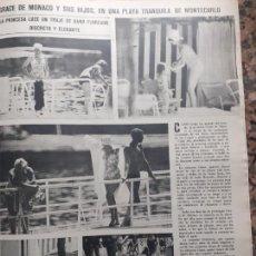 Coleccionismo de Revistas y Periódicos: GRACE KELLY. Lote 235202200