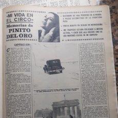 Coleccionismo de Revistas y Periódicos: PINITO DEL ORO. Lote 235202250