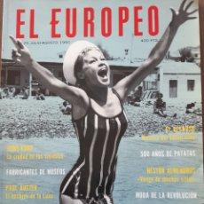 Coleccionismo de Revistas y Periódicos: EL EUROPEO JULIO AGOSTO 1990 MARISOL. Lote 235239295
