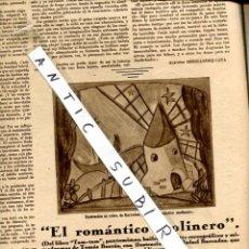 Coleccionismo de Revistas y Periódicos: REVISTA AÑO 1931 MUERTE DE SANTIAGO RUSIÑOL ARANJUEZ SOUTO ALFONSO HERNANDEZ-CATA RAFAEL BARRADAS. Lote 33148236
