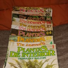 Coleccionismo de Revistas y Periódicos: LOTE 10REVISTAS COLECCIÓN PLANETA AGOSTINI1987, PLANTAS DE INTERIOR TERRAZA Y BALCÓN. Lote 235271300