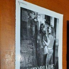 Coleccionismo de Revistas y Periódicos: VANESSA PARADIS. ACTRIZ. 8 PÁGINAS. ARTÍCUO EXTRAIDO DE LA REVISTA INSTYLE. GRAPA. BUEN ESTADO. Lote 235368160