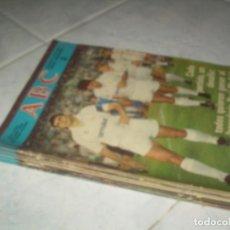 Coleccionismo de Revistas y Periódicos: LOTE 21 FASCÍCULOS HISTORIA VIVA DEL REAL MADRID, ABC. VER Y LEER. Lote 235381020