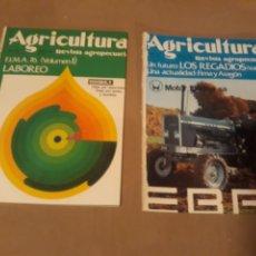 Coleccionismo de Revistas y Periódicos: DOS REVISSTAS DE LA FERIA INTERNACIONAL DE MAQUINARIA AGRÍCOLA DE ZARAGOZA AÑO 1976 . F.I.M.A.. Lote 235381075
