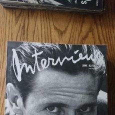 Coleccionismo de Revistas y Periódicos: REVISTA INTERVIEW ANDY WARHOL WILLEM DAFOE ENERO 1988. Lote 235698260