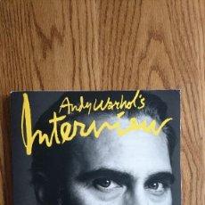 Coleccionismo de Revistas y Periódicos: REVISTA INTERVIEW ANDY WARHOL JOAQUIN PHOENIX MAYO. 2018. Lote 235698720