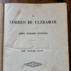 Coleccionismo de Revistas y Periódicos: EL CORREO DE ULTRAMAR - 1871 - AÑO 30 - Nº963 / 988 - NUMEROSOS GRABADOS. Lote 235719285