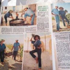 Collectionnisme de Revues et Journaux: RECORTE DIEZ MINUTOS AÑO 1986. ROCIO JURADO. Lote 235719455