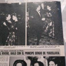 Collectionnisme de Revues et Journaux: RECORTE DIEZ MINUTOS AÑO 1987. MISS ESPAÑA JUNCAL RIVERO. Lote 235723145