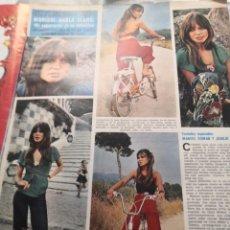 Coleccionismo de Revistas y Periódicos: RECORTE. SEMANA AÑO 1972. MARISOL HABLA CLARO. Lote 235724270