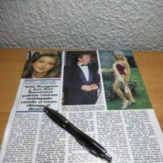 Collectionnisme de Revues et Journaux: SOFIA MAZAGATOS JOSE MARI MANZANARES. CASCOS AZULES AGRUPACION MADRID. Lote 235727740