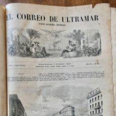 Coleccionismo de Revistas y Periódicos: EL CORREO DE ULTRAMAR - 1870 - AÑO 29 - Nº911 / 936 - NUMEROSOS GRABADOS. Lote 235729750