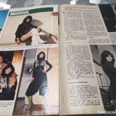Coleccionismo de Revistas y Periódicos: RECORTE - SEMANA FEBRERO 1971 MARISOL. Lote 235820705