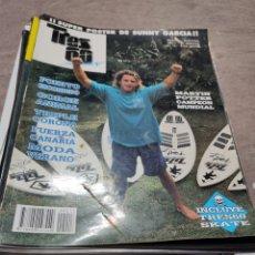Coleccionismo de Revistas y Periódicos: 14 REVISTAS SURF: TRES 60, SURFER RULE, SURFER MAGAZINE. Lote 235848215