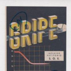 Coleccionismo de Revistas y Periódicos: PUBLICIDAD 1961. ANUNCIO MEDICAMENTOS HUBERGRIP + TRIPARANOL DAVUR (REVERSO). Lote 235848625