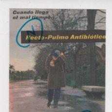 Coleccionismo de Revistas y Periódicos: PUBLICIDAD 1961. ANUNCIO MEDICAMENTOS RECTO-PULMO ANTIBIOTICO + ZIMAGAMA. ALMIRALL (REVERSO). Lote 235849560