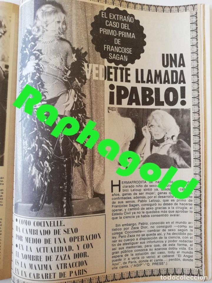 Coleccionismo de Revistas y Periódicos: Revista EL INDISCRETO SEMANAL 23 Jose Sacristan Maria Luisa San Jose Eva Leon Agata Lys Andy Warhol - Foto 8 - 235904550