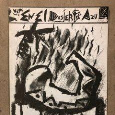 Coleccionismo de Revistas y Periódicos: EN EL DESIERTO AZUL (BARCELONA 1983). HISTÓRICO FANZINE ORIGINAL POR VICTOR ESTEBAN Y JAIME BARRERA. Lote 235975670