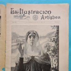 Colecionismo de Revistas e Jornais: LA ILUSTRACION ARTISTICA Nº 973 - 20 AGOSTO 1900 NUMEROSOS GRABADOS ITALIA CHINA, FILIPINAS ETC. VER. Lote 236089925