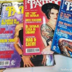 Coleccionismo de Revistas y Periódicos: LOTE DE 36 REVISTAS DE TATUAJES (TATOO) SA2454. Lote 236124155