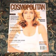 Coleccionismo de Revistas y Periódicos: MADONNA REVISTA COSMOPOLITAN EDICIÓN HOLANDESA 2001 NUEVA MUY RARA. Lote 236151085