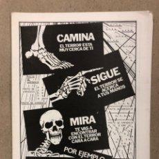 Coleccionismo de Revistas y Periódicos: SISTEMA COMUNAL N° 34 (MADRID 1983). HISTÓRICO FANZINE ORIGINAL POLÍTICO LIBERTARIO.. Lote 236191240