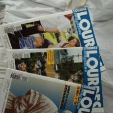 Coleccionismo de Revistas y Periódicos: LOTE 4 REVISTAS LOURDES MAGACINE. Lote 236219220