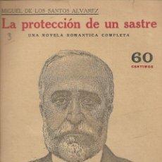Coleccionismo de Revistas y Periódicos: MIGUEL DE LOS SANTOS ALVAREZ - FIGARO -NOVELAS Y CUENTOS - LA PROTECCION DE UN SASTRE - AÑOS 40. Lote 236219550