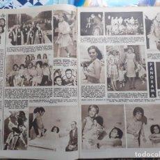 Coleccionismo de Revistas y Periódicos: CARMEN SEVILLA PEPA FLORES MARISOL ROCIO DURCAL MERCEDES VECINO ABBE LANE REAL ZARAGOZA. Lote 236238385
