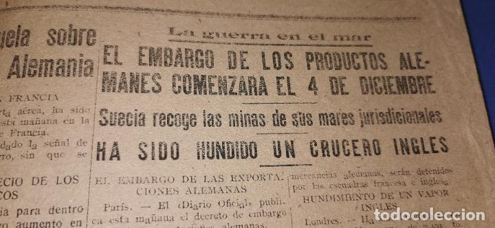 Coleccionismo de Revistas y Periódicos: Diario Mediterraneo(Guerra Civil) Restos Jose Antonio llegan Escorial, Castellón al día ,ver fotos - Foto 5 - 236247320