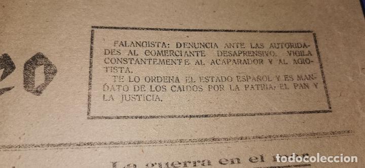 Coleccionismo de Revistas y Periódicos: Diario Mediterraneo(Guerra Civil) Restos Jose Antonio llegan Escorial, Castellón al día ,ver fotos - Foto 6 - 236247320