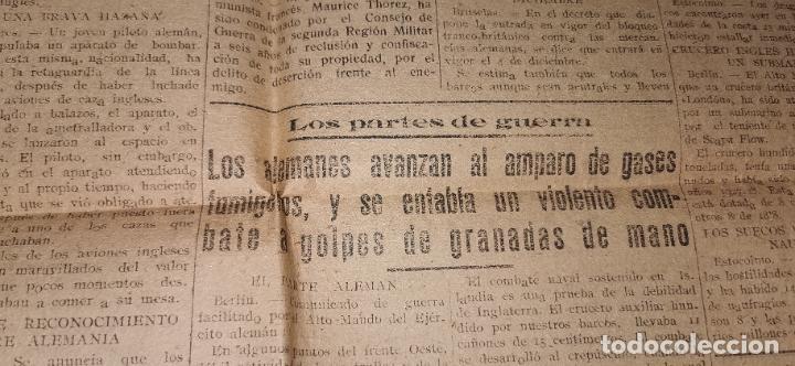 Coleccionismo de Revistas y Periódicos: Diario Mediterraneo(Guerra Civil) Restos Jose Antonio llegan Escorial, Castellón al día ,ver fotos - Foto 7 - 236247320