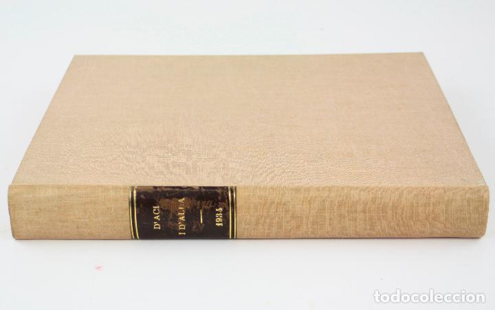 Coleccionismo de Revistas y Periódicos: Revista dAcí dAllà, año 1934 completo con pochoir de Joan Miró. 33x30cm - Foto 9 - 236319865