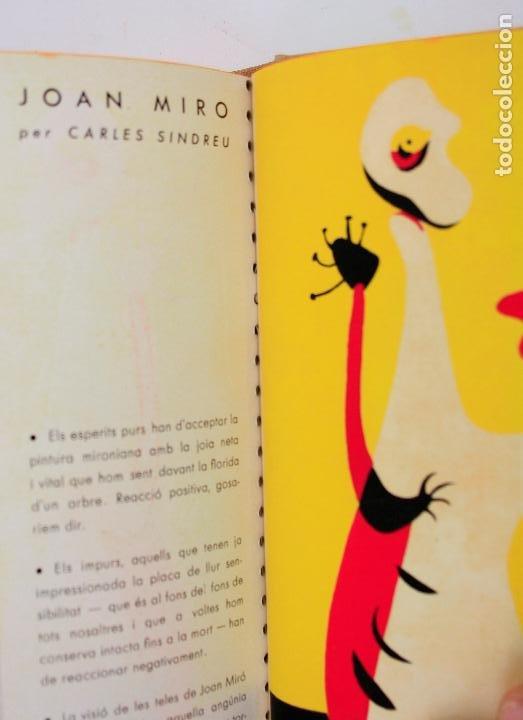 Coleccionismo de Revistas y Periódicos: Revista dAcí dAllà, año 1934 completo con pochoir de Joan Miró. 33x30cm - Foto 2 - 236319865