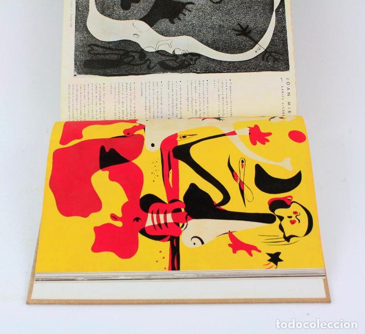 Coleccionismo de Revistas y Periódicos: Revista dAcí dAllà, año 1934 completo con pochoir de Joan Miró. 33x30cm - Foto 3 - 236319865