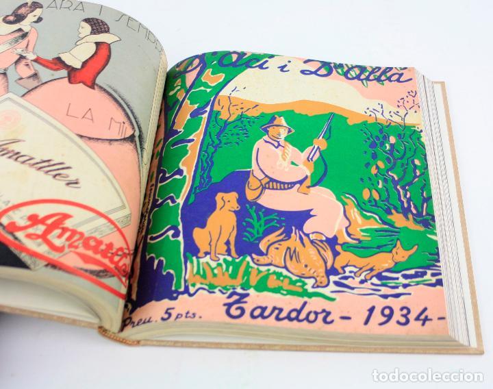 Coleccionismo de Revistas y Periódicos: Revista dAcí dAllà, año 1934 completo con pochoir de Joan Miró. 33x30cm - Foto 6 - 236319865