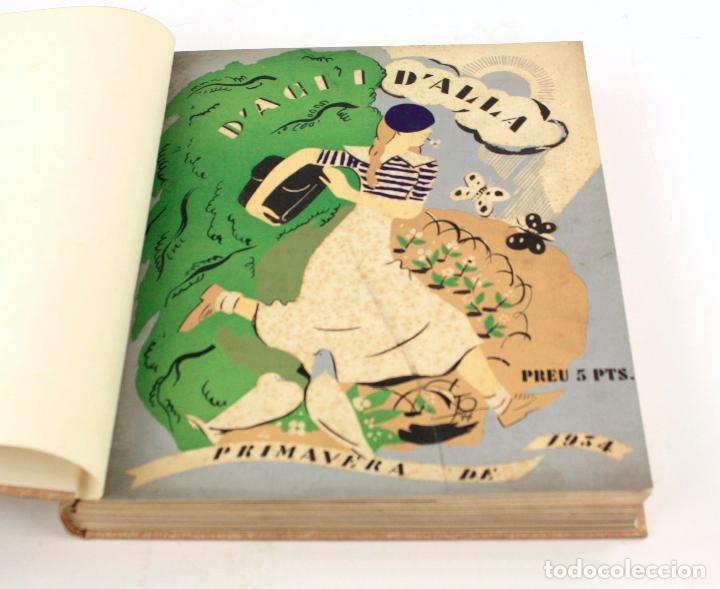 Coleccionismo de Revistas y Periódicos: Revista dAcí dAllà, año 1934 completo con pochoir de Joan Miró. 33x30cm - Foto 7 - 236319865