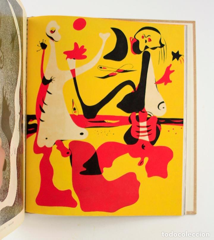 REVISTA D'ACÍ D'ALLÀ, AÑO 1934 COMPLETO CON POCHOIR DE JOAN MIRÓ. 33X30CM (Coleccionismo - Revistas y Periódicos Antiguos (hasta 1.939))