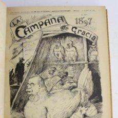 Coleccionismo de Revistas y Periódicos: LA CAMPANA DE GRACIA - DEL AÑO 1897 A 1899. GUERRA DE CUBA, FILIPINAS. ETC.. Lote 236340385