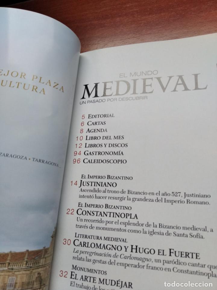 Coleccionismo de Revistas y Periódicos: EL MUNDO MEDIEVAL Nº9 - PORTUGAL,JUSTINIANO, ARTE MUDEJAR ... (VER SUMARIO) - Foto 2 - 236354975