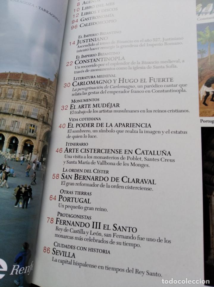Coleccionismo de Revistas y Periódicos: EL MUNDO MEDIEVAL Nº9 - PORTUGAL,JUSTINIANO, ARTE MUDEJAR ... (VER SUMARIO) - Foto 3 - 236354975