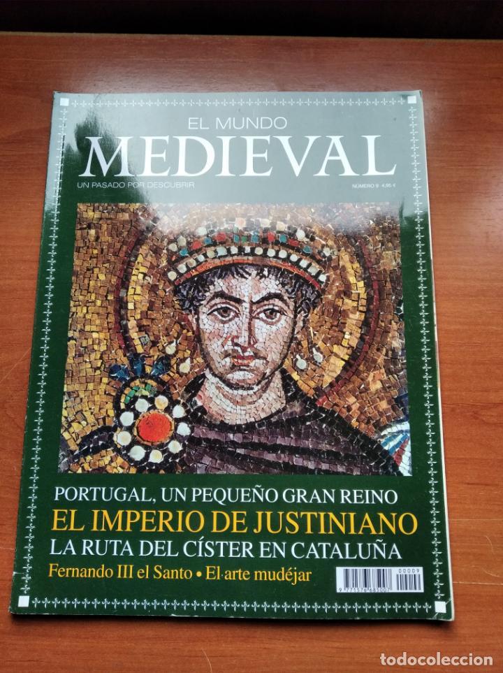 EL MUNDO MEDIEVAL Nº9 - PORTUGAL,JUSTINIANO, ARTE MUDEJAR ... (VER SUMARIO) (Coleccionismo - Revistas y Periódicos Modernos (a partir de 1.940) - Otros)