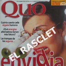 Coleccionismo de Revistas y Periódicos: ANTIGÜA REVISTA QUO - NUMERO 41. Lote 236423090