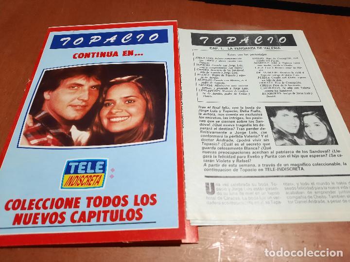 TOPACIO. TELE INDISCRETA. CON 5 FASCÍCULOS: 1-2-3-5-6. BUEN ESTADO. (Coleccionismo - Revistas y Periódicos Modernos (a partir de 1.940) - Otros)